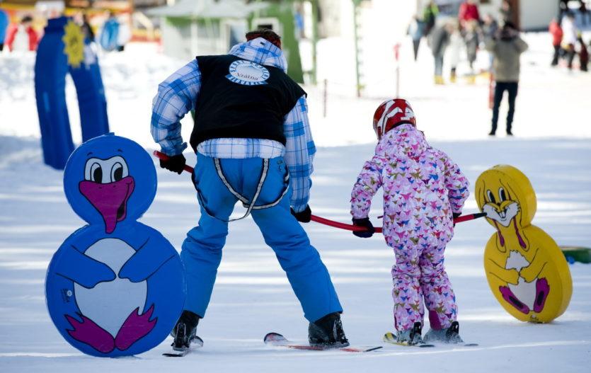 Rodinná lyžovačka s dětmi v Malé Fatře
