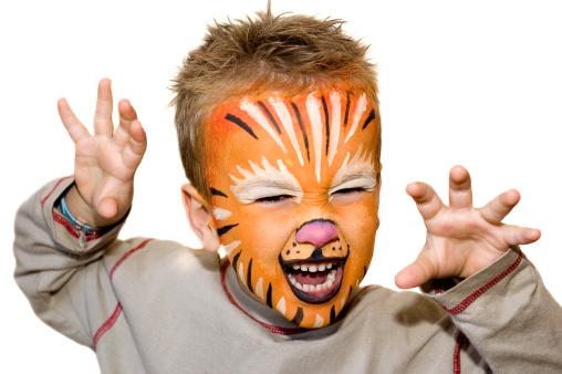 Malování na obličej – zábava pro děti za každého počasí