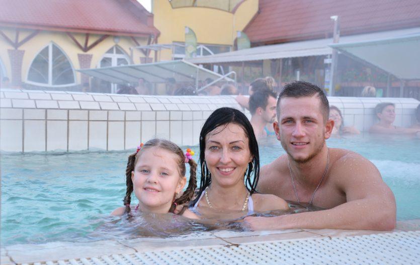 Kam s rodinou na jarní prázdniny? Zkuste termální lázně Thermal Corvinus Velký Meder