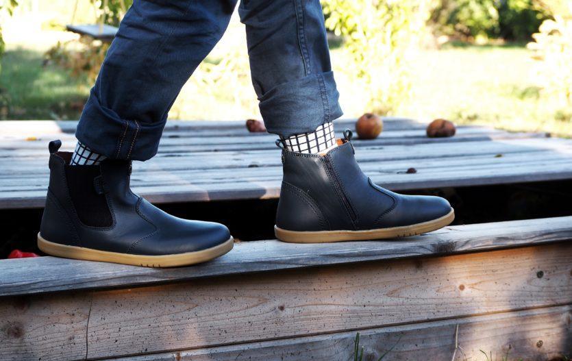 Kotníčkové boty dělají zázraky