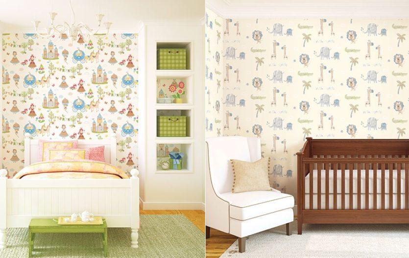 Jak zútulnit a ochránit zdi dětského pokojíčku? Stačí vám jedna věc – tapety