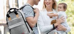 Taška na kočárku usnadňuje cestování a má mnoho dalších výhod