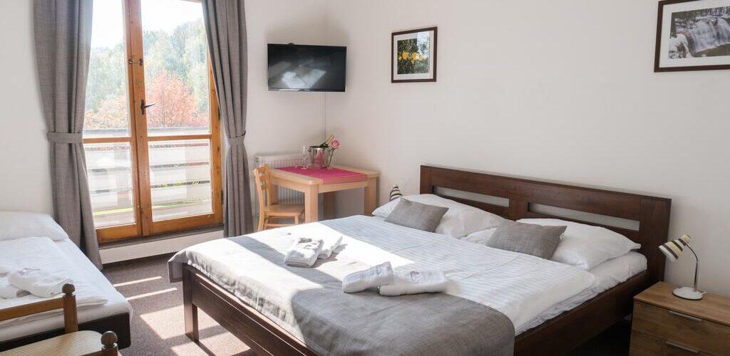 Ubytování pro rodiny s dětmi v krásném horském prostředí