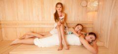 Děti a finská sauna