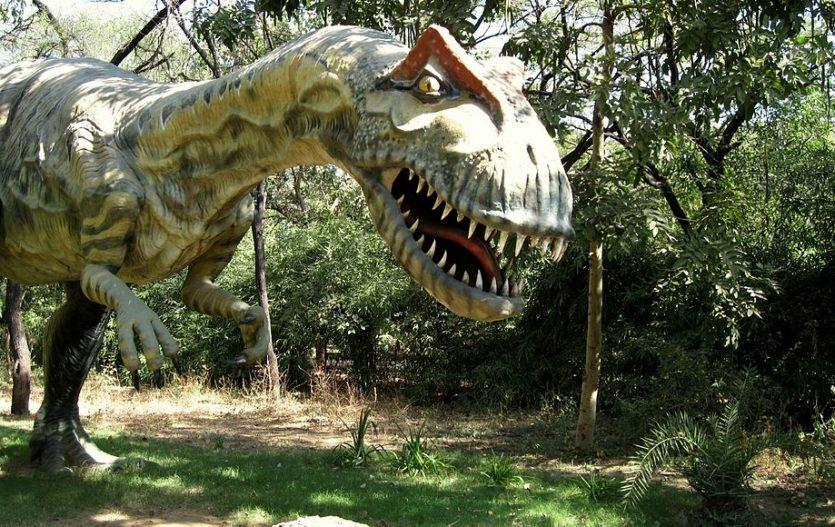 Putování za dinosaury!