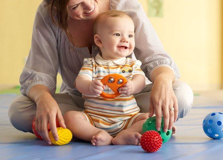 Rozvíjení dítěte zábavnou formou, aneb hraju si s maminkou
