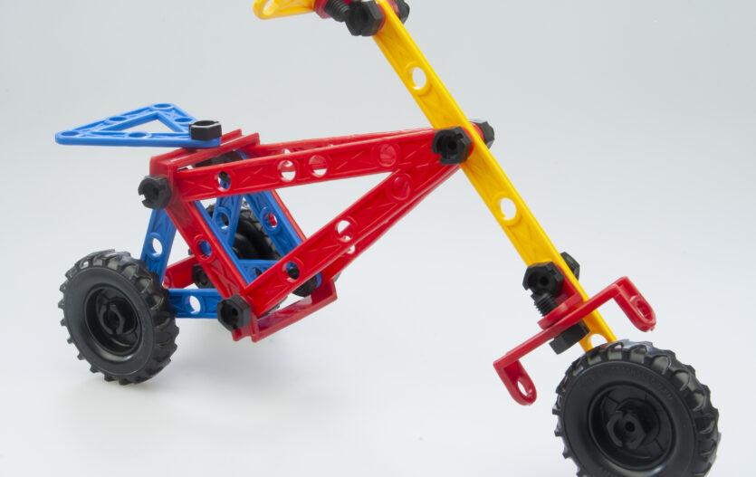 Stavebnice Variant podporuje dětskou fantazii i kreativitu